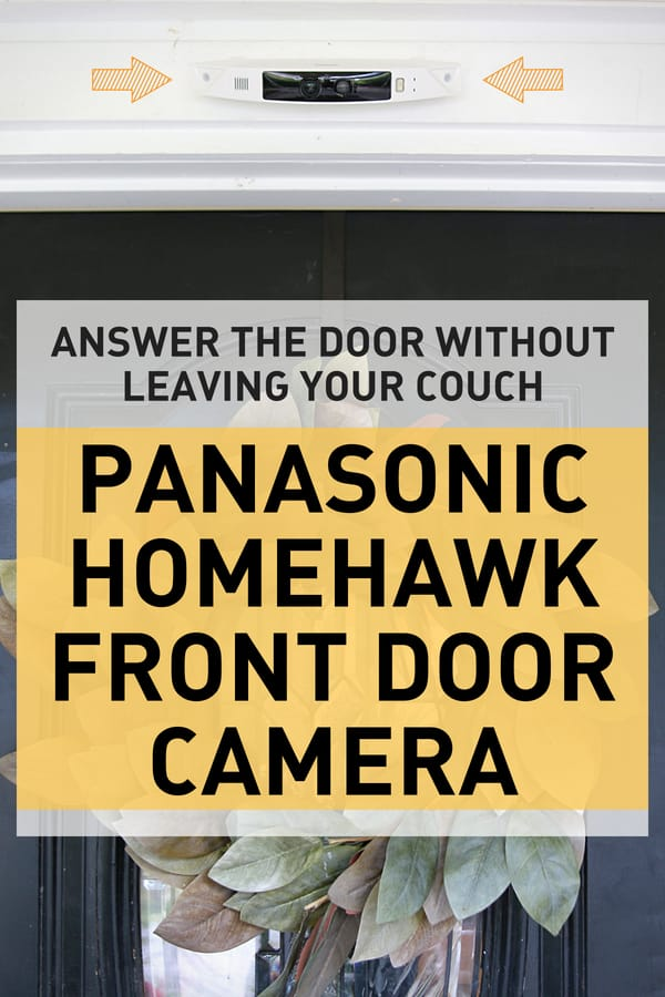Digital Mom reviews the Panasonic homehawk front door camera