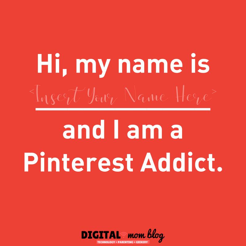 Hi I am a Pinterest Addict - digital mom blog funny pinterest quotes
