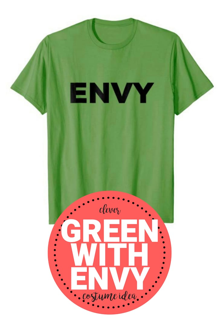green with envy costume shirt