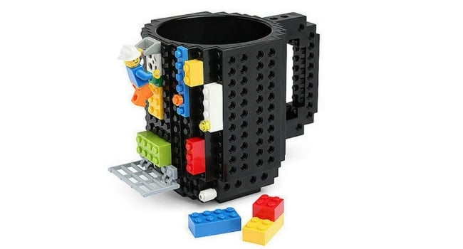 lego coffee mug - coworker gifts