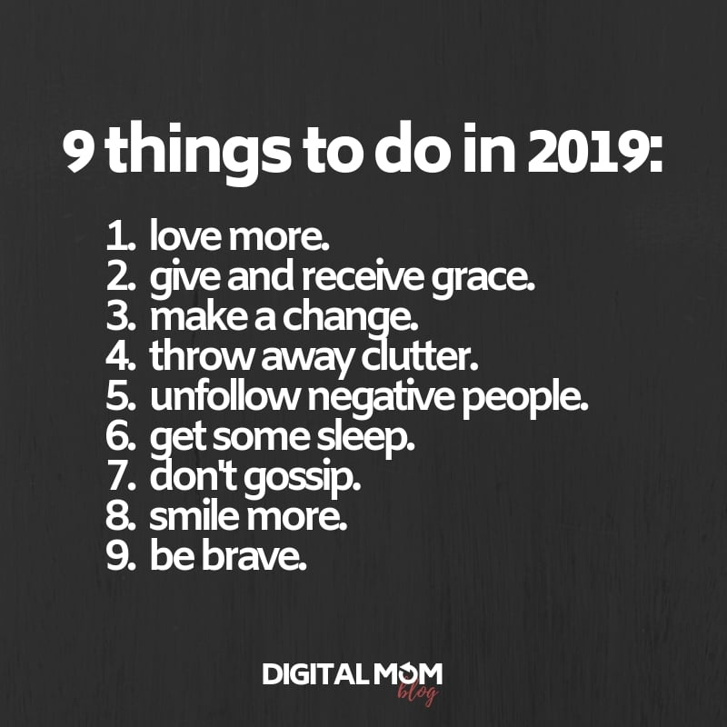 things to do in 2019