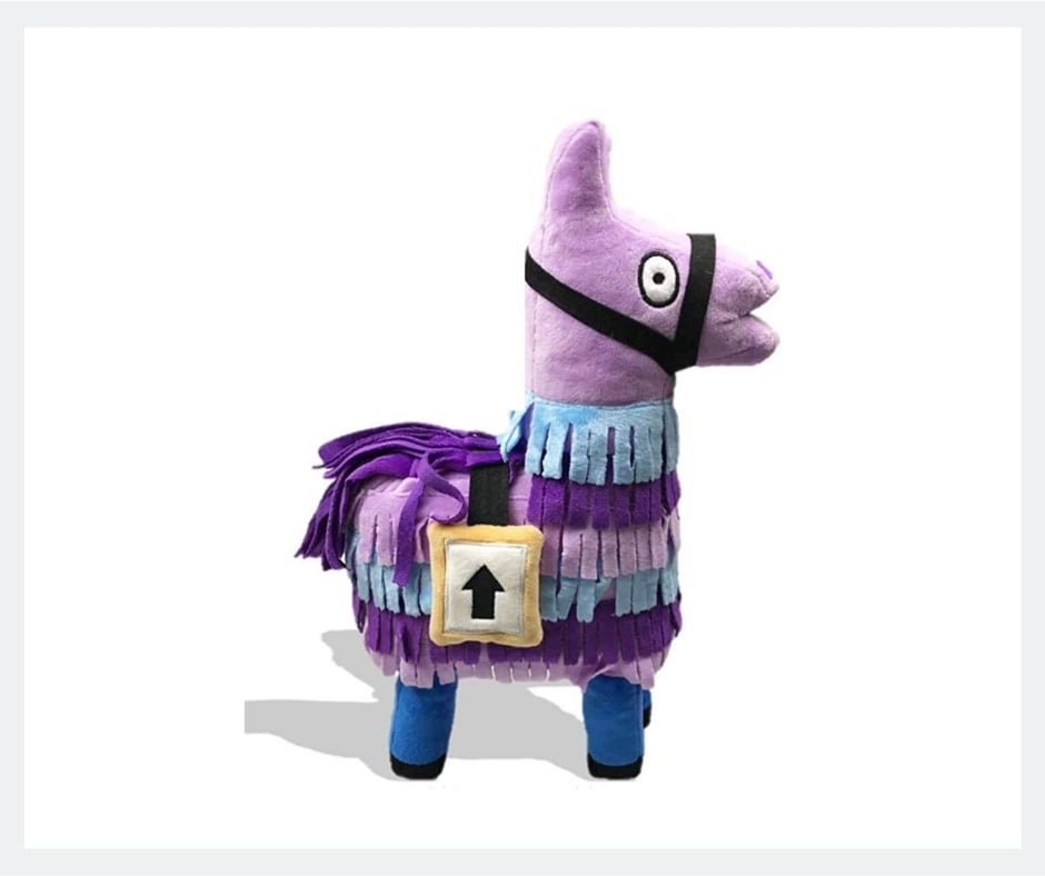 fortnite plush llama toy