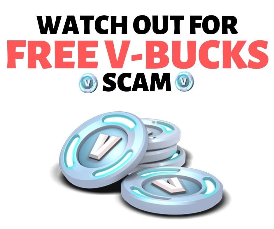free vbucks scam