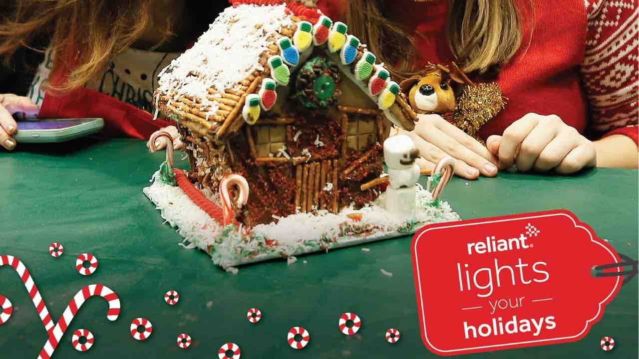 reliant gingerbread house