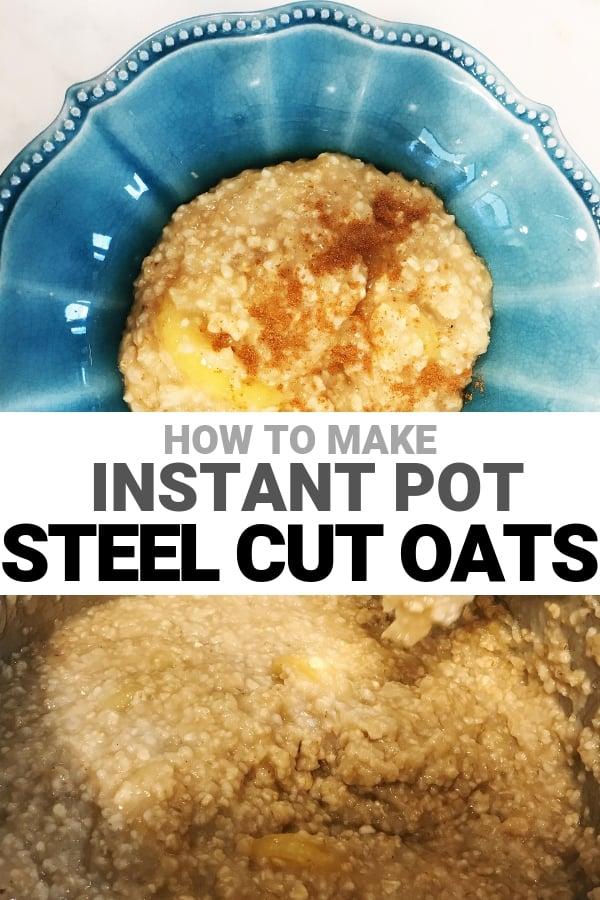 steel cut oats instant pot recipe