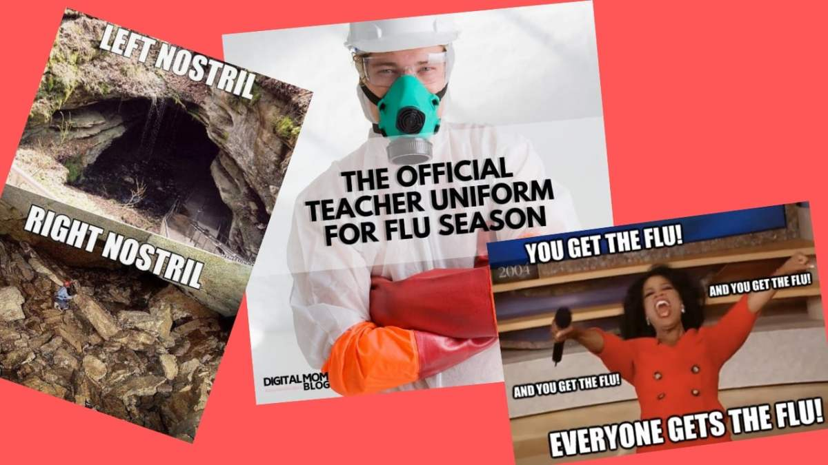 Flu Memes – The Only Thing Funny About the Flu