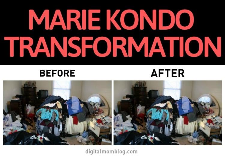 marie kondo transformation