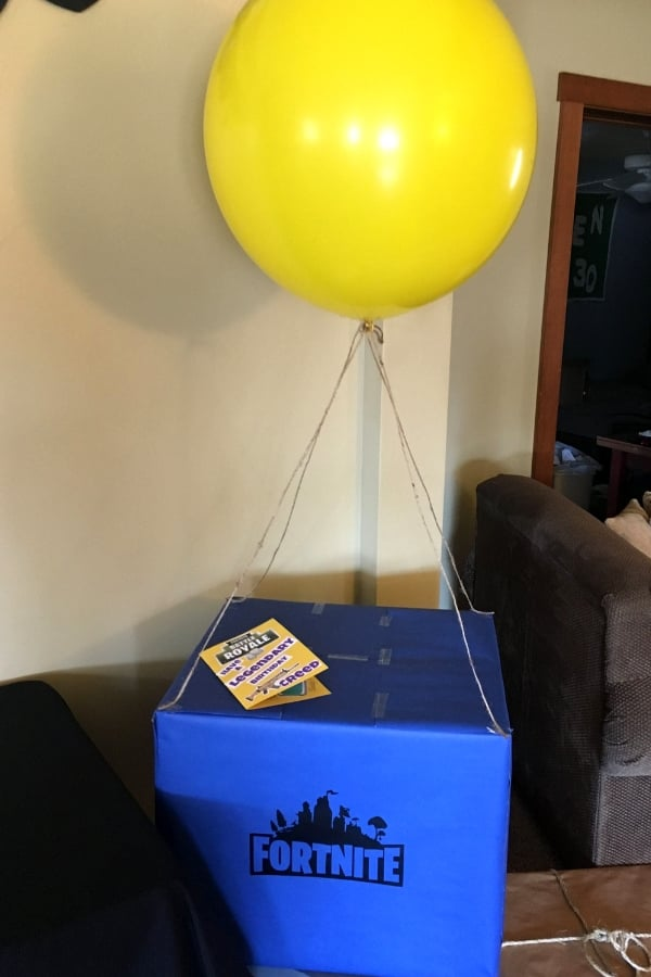 fortnite valentine drop box