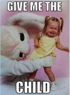 bad easter bunny