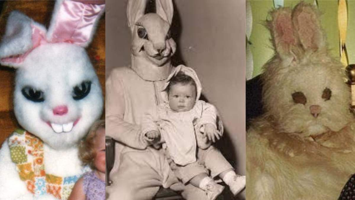 Creepy Easter Bunny Pictures – Don't Show These to The Kids
