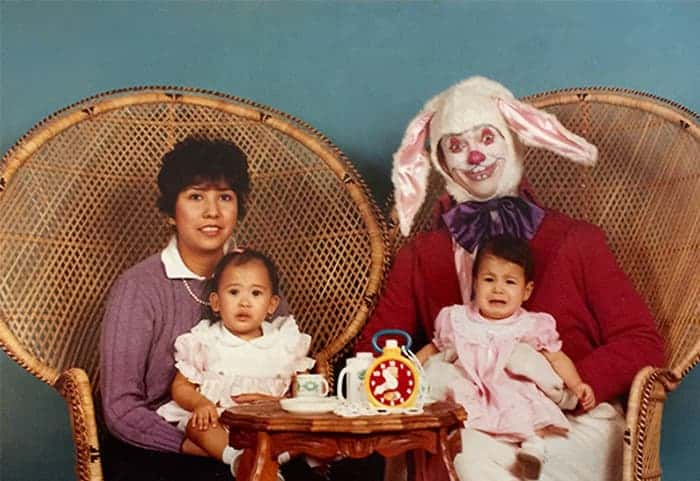 easter bunny picture odd