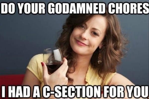 csection meme
