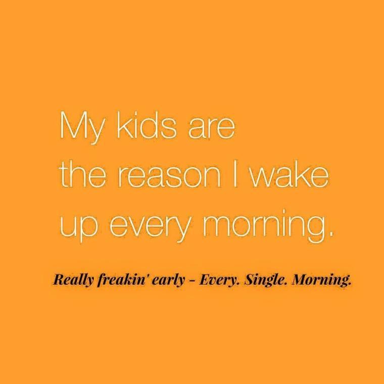 wake up early mom meme