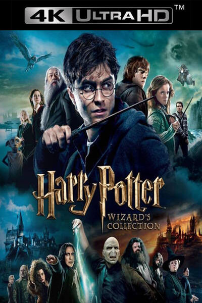 Harry Potter Wizard's Hogwarts Collection (4k UHD MA/Vudu) [OR iTunes via  MA] – Read Description