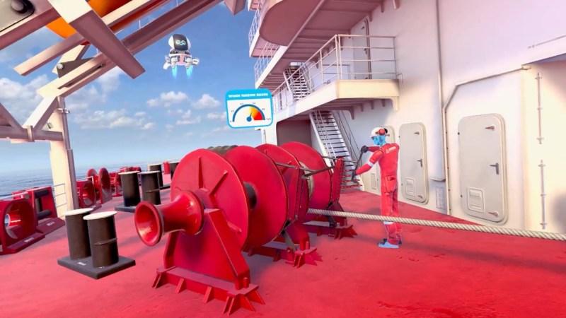 mooring operations stena VR