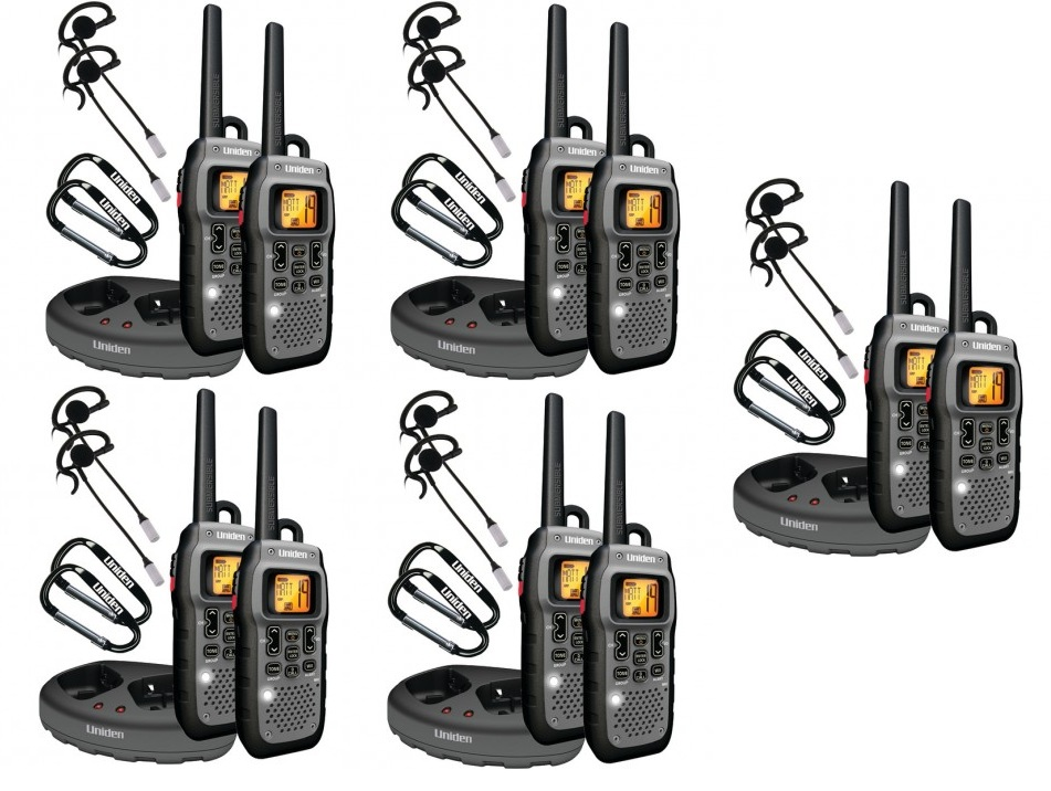 Uniden GMR5089-2CKHS Submersible Two-Way Radio FRS/GMRS