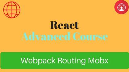 react advanced course