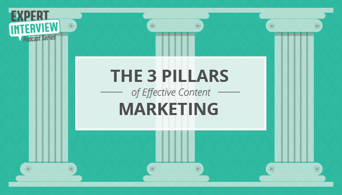 Three pillars behind every successful content strategy and content marketing