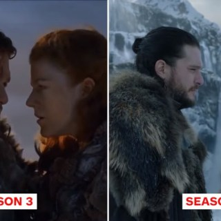 Game Of Thrones then now season vs season 8 61