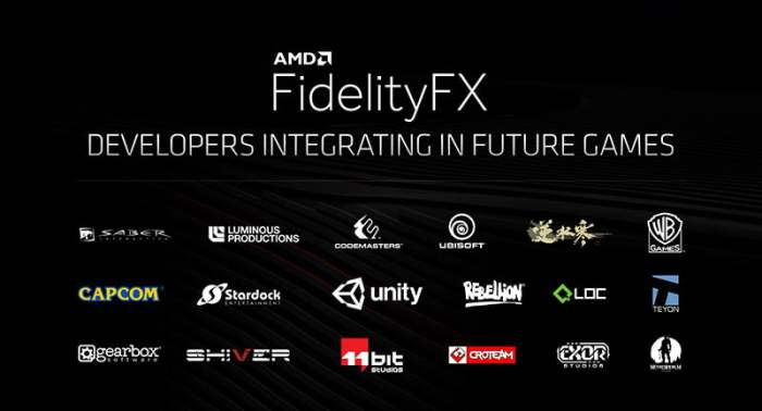 fidelityfx AMD NEW