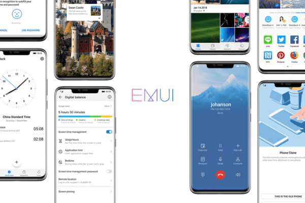Huawei To Rollout EMUI 10 on 9 August 2019