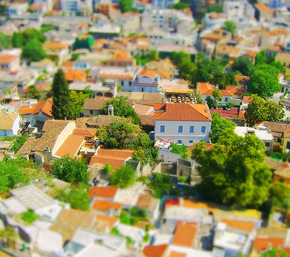 Simulated tilt-shift using Photoshop CC
