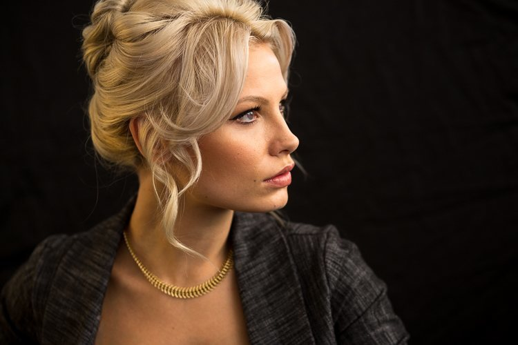 Hair Rig Diagram How To Create A Dramatic Profile Portrait Anywhere Without