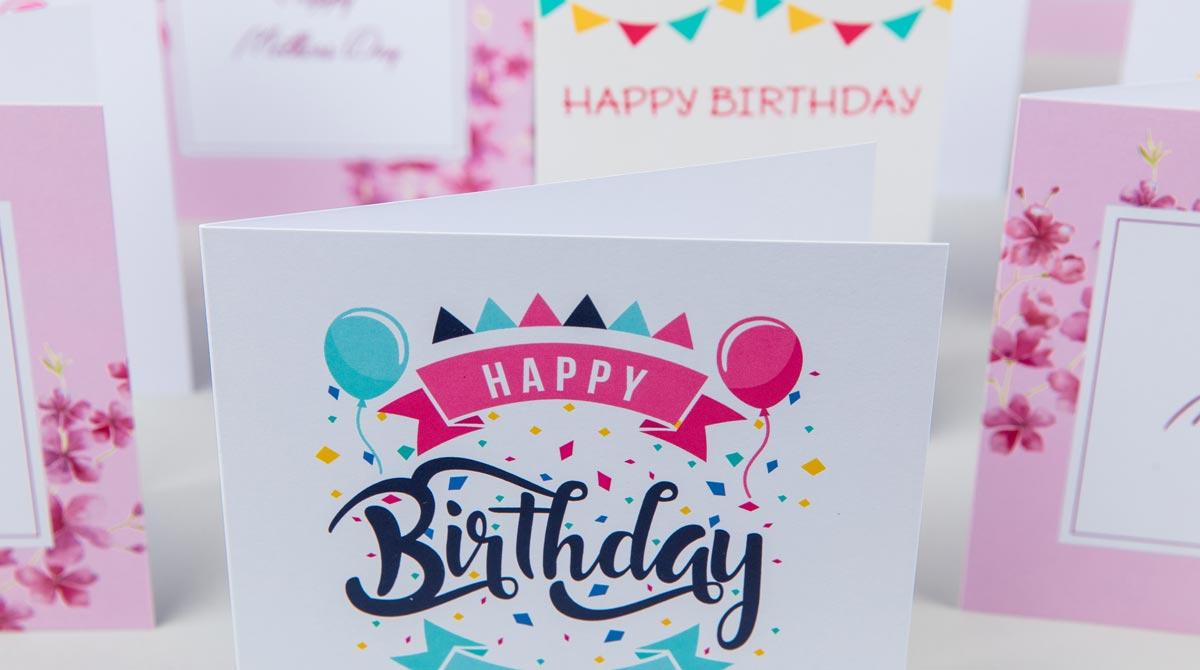 print greeting cards custom