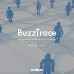 BuzzTrace: A New Platform To Help Writers Find Their Readers