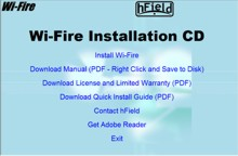 Wi-Fire Drive Install