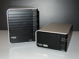 Promise SmartStor NS4300N and NS2300N