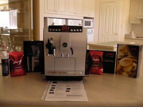 Jura Impressa Z5 Automatic Coffee Machine