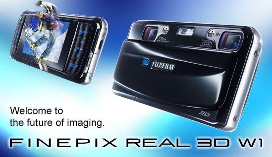 Fuji FinePix REAL 3D W1 Camera