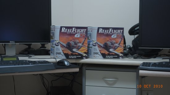 Two copies of Realflight G5