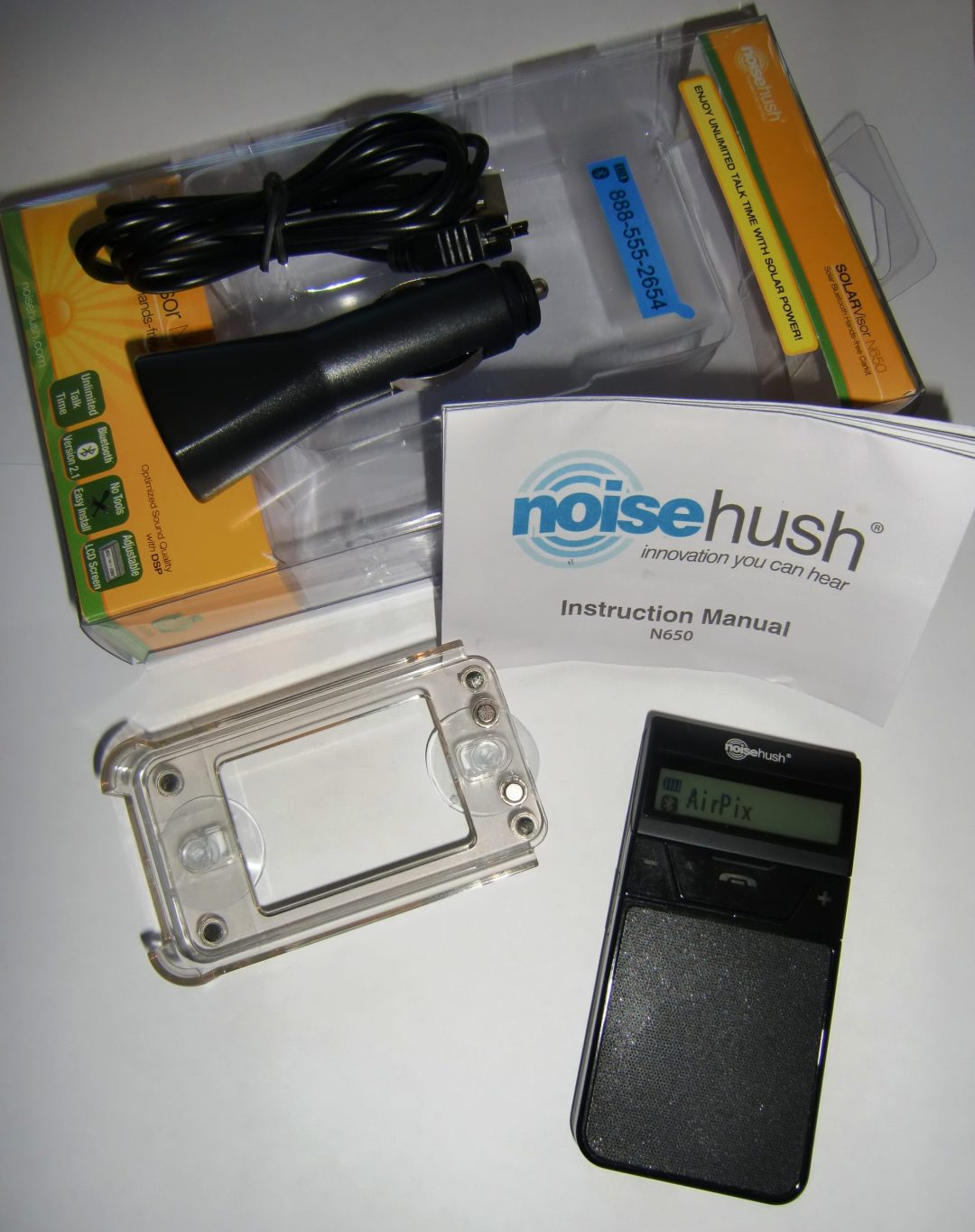 NoiseHush N650 Solar Speakerphone