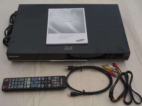 Samsung BD D8500A 3D Recorder
