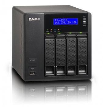 QNAPS TS-419P II Turbo NAS Server