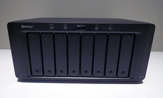 Eight Bay NAS Overture – Synology DS1812+