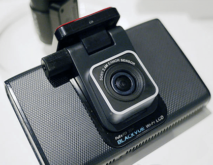 The BlackVue WiFi LCD Dashcam: Form Factor of the Future?