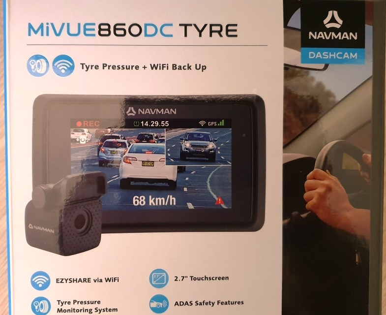 Navman MIVUE860 DC TYRE – a Dashcam that Keeps a Constant Check on your Tyres