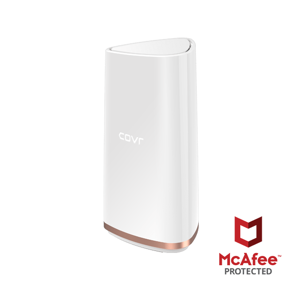 D-Link COVR-2202 with McAfee – Coverage all sorts