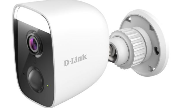 D-Link's new Intelligent AI-based DCS-8630LH Full HD Outdoor Wi-Fi Spotlight Camera Reviewed