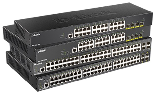 D-Link launches new more cost efficient and powerful DGS-1250 Series of Gigabit Smart Managed Switches with 10G Uplinks
