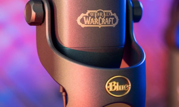 The Blizzard blows in Yeti X World of Warcraft Edition by Blue Microphones