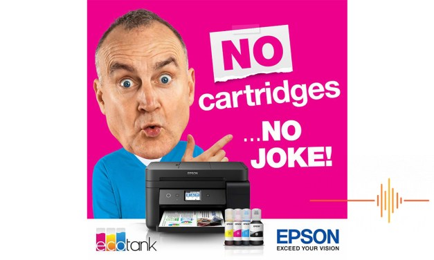 Epson EcoTank partners with a beloved Australia comedian in new ad campaign