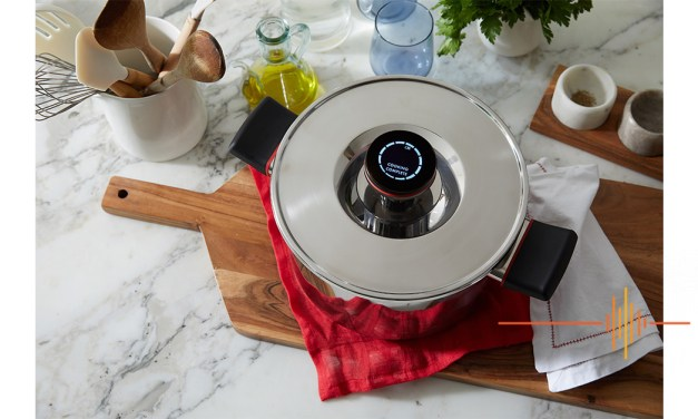 Zega Cookware with Digital Smarts – The Only Pot with a USB Charge Cable