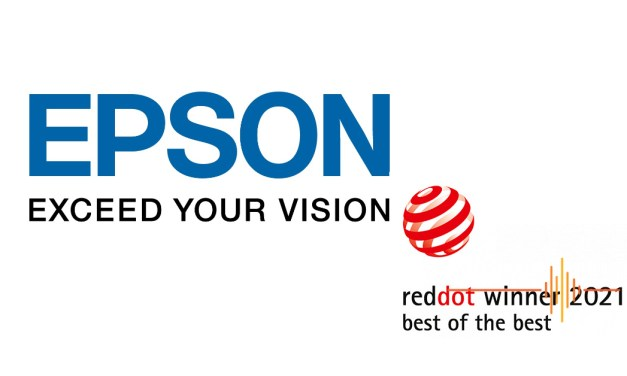 Epson Wins Best of the Best Red Dot Award 2021, Again