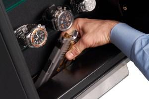Platinum Wall Safe Hand Gun Hidden Compartment