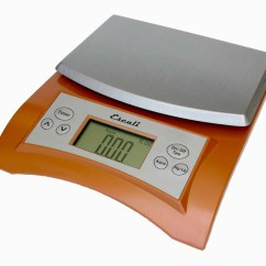 Escali Kitchen Scale Exhaust Hood Avia Digital Scale, 11 Lb / 5 Kg, Copper