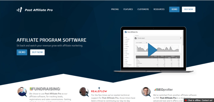 Affiliate Marketing Tracking Software